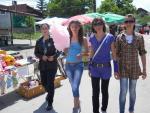 Младите момичета на събора в Рударци