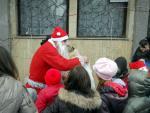 Дядо Коледа на Коледната фиеста в Рударци